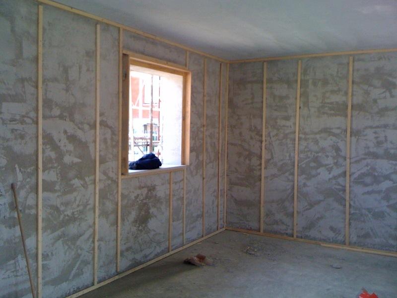 Isolamento termico su parete interna innovative solutions de luca pescara - Parete interna in legno ...